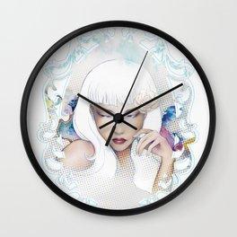 Mercurial Wall Clock
