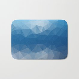 Glacial Blue Bath Mat