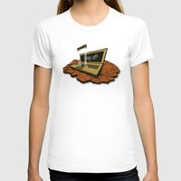 spaceship T-shirts featuring SPACEship by Tomas Jordan