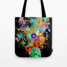 Candy Sweet Skull Tote Bag