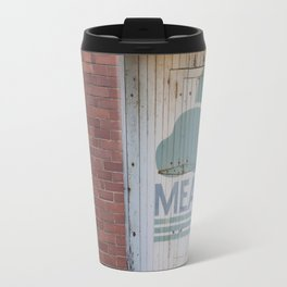 Clouds and brick Leith Edinburgh Travel Mug