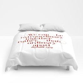 Extraordinary Comforters