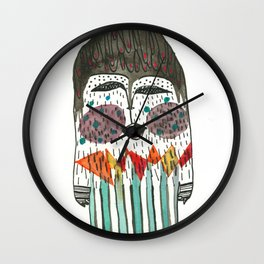 Lost and singing Yeti Wall Clock