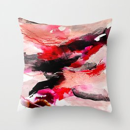 Day 63: Don't let aesthetics distract from true and invisible beauty. Throw Pillow