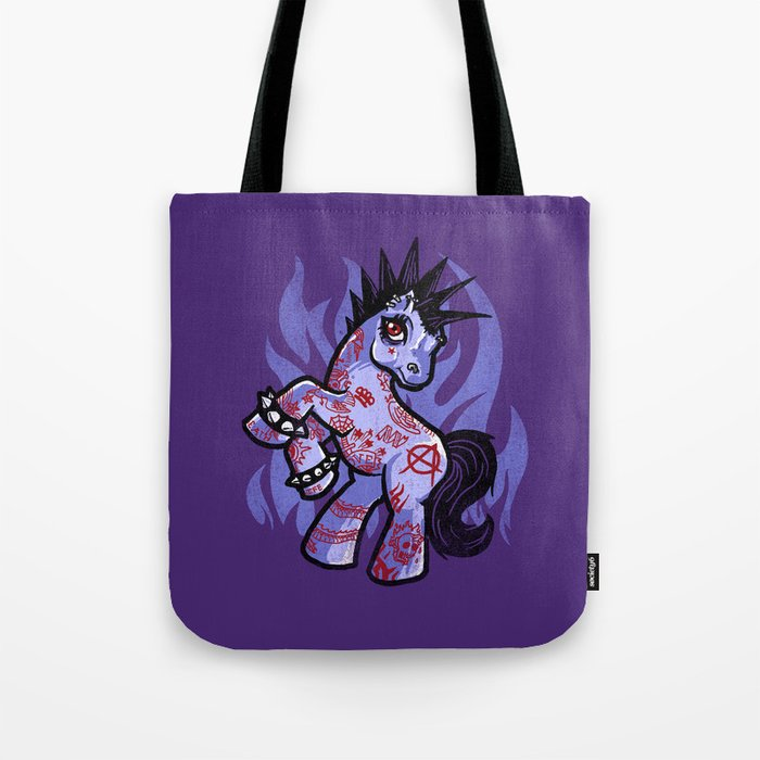 My Punkrock Pony Tote Bag