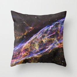 Veil Nebula Throw Pillow