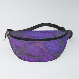 Passionate Purple Sanctuary by Dee Flouton Fanny Pack