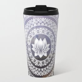 Lotus Mandala - Windermere Hills Landscape Travel Mug