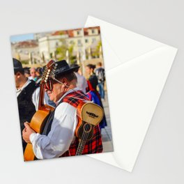 Le musicien Stationery Cards
