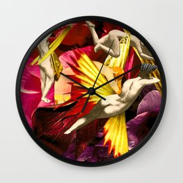 MUSES OF SATURN Wall Clock