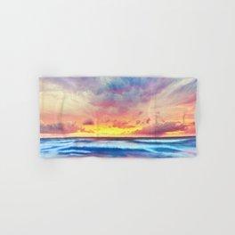 Lonas planet stormy evening Hand & Bath Towel