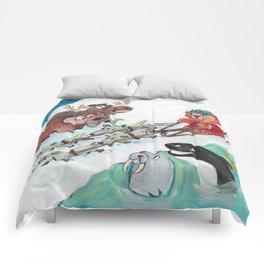 Alaska Cats Comforters