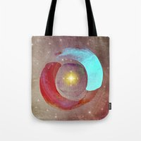 compass Tote Bags featuring Compass by Iris Lehnhardt