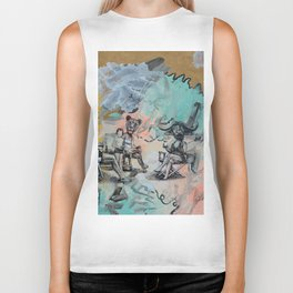 Only plateaus offer a place to rest. Biker Tank