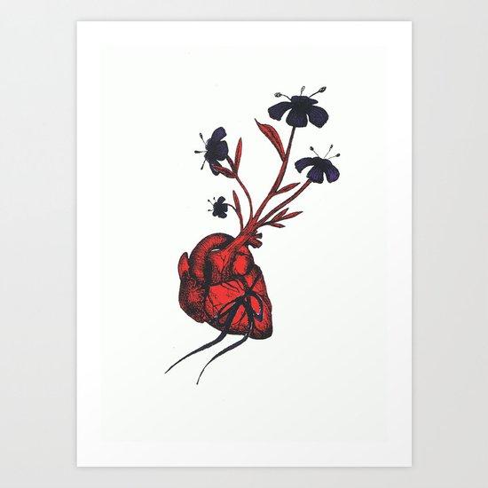 Love Grows Art Print