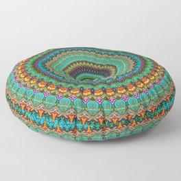 bohemian rhapsody  Mandala Floor Pillow