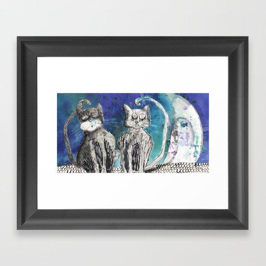 kittens Framed Art Print