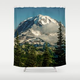 Mountain, Scenic, Mt. Rainier Shower Curtain