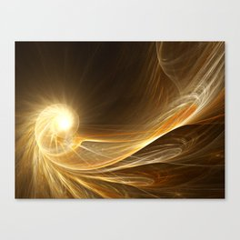 Golden Spiral Canvas Print