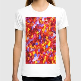 Abstract Red 002 T-shirt
