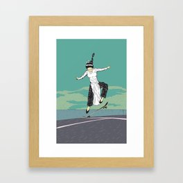 [ LET YOURSELF GO! ] The Vietnamese lady. Framed Art Print