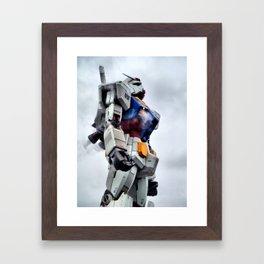 Gundam Pride Framed Art Print