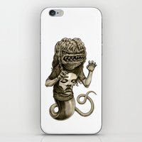 demon iPhone & iPod Skins featuring Demon by Tim Maclean
