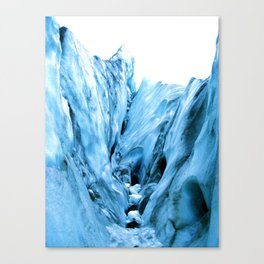 The  Ice Canvas Print