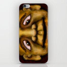 Cross Eyed Dude iPhone Skin