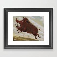 Ave Satani 2 Framed Art Print