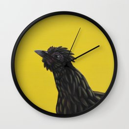 Second Born of Silkie Wall Clock