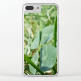 Lucky^2 Clear iPhone Case