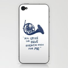 How I Met Your Mother - Blue French Horn iPhone & iPod Skin