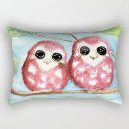 Cute Owls Rectangular Pillow