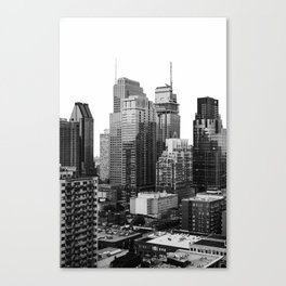 Montreal Québec, Canada City Skyline Downtown Canvas Print
