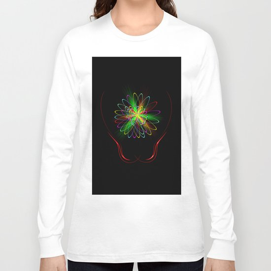Abstract Perfection 56 Long Sleeve T-shirt