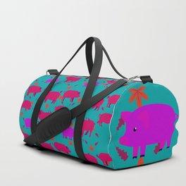 Pigs Pattern12 Duffle Bag