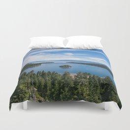 Emerald Bay, Lake Tahoe Duvet Cover