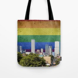Denver, Colorado LGBT Tote Bag