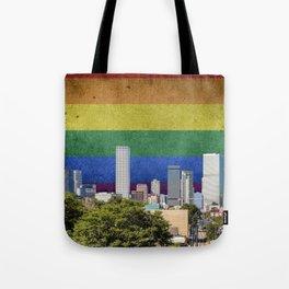 Denver, Colorado LGBT Tote Bag