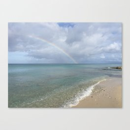 Rainbow in St. Croix Canvas Print