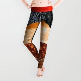 Abstract #143 Leggings