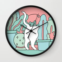 Tuesday Plans Wall Clock