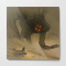 Wooden Giant Metal Print