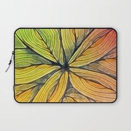 Doodled Aura-Leah Digitized Macro Laptop Sleeve