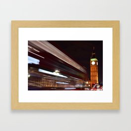 London's Big Ben Framed Art Print