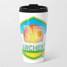 3D ARCHERY - CLASSIC CLEAN LOGO Travel Mug