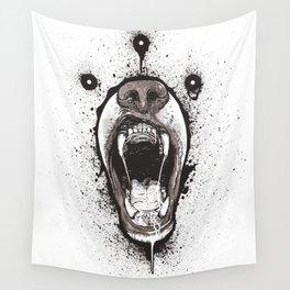Zig Bear Wall Tapestry
