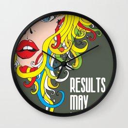 Results May Vary Wall Clock