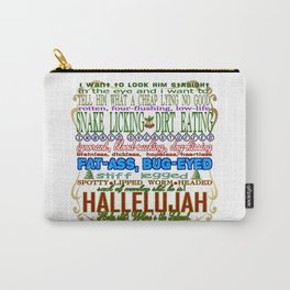 Christmas Vacation Insults Carry-All Pouch